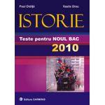 Istorie. Teste pentru noul BAC 2010