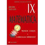 Matematica TC + CD. Manual pentru clasa a IX-a