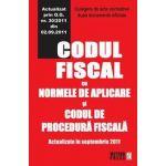 Codul fiscal cu Normele de aplicare si Codul de procedura fiscala