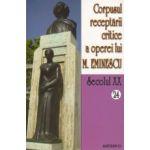 Corpusul receptarii critice a operei lui Mihai Eminescu. Sec. XX. Vol. 24-25, perioada septembrie 1919
