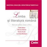 LIMBA SI LITERATURA ROMANA Dobra - clasa a XII-a