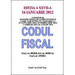 Codul fiscal 2012 - editia a XXV-a - 16 ianuarie 2012
