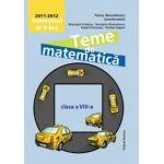 Teme de matematica clasa a VIII-a, semestrul II 2011-2012