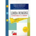 Admitere la Drept 2012 Limba Romana. 1200 de intrebari si raspunsuri