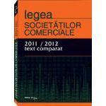 Legea Societatilor Comerciale -text comparat- 2011/2012- 15 Martie 2012