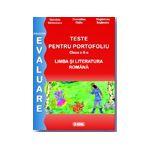 Evaluare limba romana 2013. Teste pentru portofoliu cls a II-a