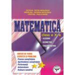 Matematica clasa a X - a: algebra, geometrie, trigonometrie ; sinteze de teorie, exercitii si probleme