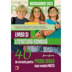 Bacalaureat 2013, Limba si literatura Romana - 40 de variante pentru proba orala
