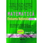 Evaluarea nationala 2013 Matematica