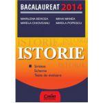 Bacalaureat Istorie 2014 - Sinteze, Scheme, Teste de evaluare