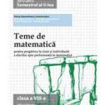 Teme de matematica clasa a 8-a Semestrul II -2014