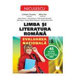 Limba şi literatura română. Evaluarea naţională. 45 de teste rezolvate după modelul MEN (Ciocaniu)