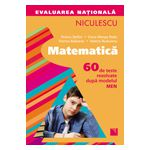 Matematică. Evaluarea naţională. 60 de teste rezolvate după modelul MEN (Ştefan) 2015
