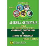 Algebra, Geometrie. 1050 de probleme semnificative Olimpiade, concursuri si centre de excelenta. Clasa a VIII-a (Artur Balauca)
