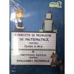 Exercitii si probleme de Matematica pentru clasa a IV- a + Portofoliul Elevului pentru Evaluarea Nationala 2016