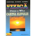 Fizica, caiet pentru clasa a VI-a (Constantin Corega)