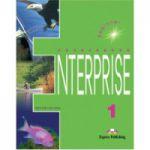 Curs de limba engleza. Enterprise 1 (SB) Beginner. Manualul elevului pentru clasa a V-a - Evans, Virginia