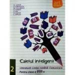 Caietul inteligent, pentru clasa a VIII-a, semestrul II. Literatura. Limba romana. Comunicare