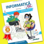 Manual de Informatică și TIC, clasa a V-a Manual școlar + manual digital