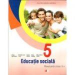 Educatie sociala. Manual pentru clasa a V-a + CD