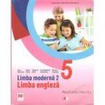 Limba moderna 2. Limba engleza. Manual pentru clasa a V-a + CD