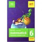 Matematica caiet pentru vacanta de vara clasa a VI-a - 2018