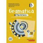 Gramatică 2020 - Fișe de lucru (pe lecții și unități de învățare cu itemi și teste de evaluare) - Clasa a VIII-a