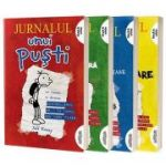 Box set Jurnalul unui puști | paperback - Jeff Kinney