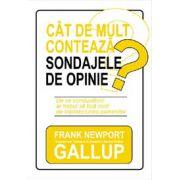 CAT DE MULT CONTEAZA SONDAJELE DE OPINIE