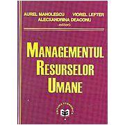 Managementul resurselor umane, editie 2007