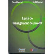 Lectii de management de proiect
