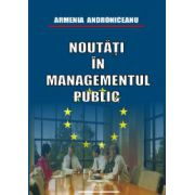 Noutăţi în managementul public