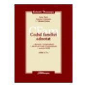 Codul familiei adnotat, ed. a 2-a