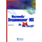 Macromedia dreamweaver MX-in 24 de lectii