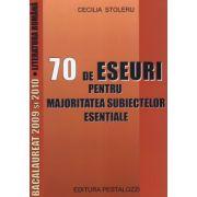 Bacalaureat 2009 si 2010. 70 de eseuri pentru majoritatea subiectelor esentiale