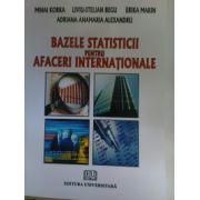 Bazele statisticii pentru afacerii internationale