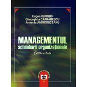 Managementul schimbarii organizationale, editia a III-a