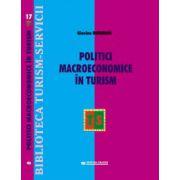 Politici macroeconomice in turism