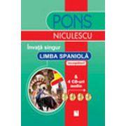 Invata singur limba spaniola + 4 CD audio