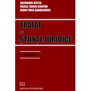 Tratat de stiinte juridice - volumul II