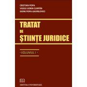 Tratat de stiinte juridice - volumul I