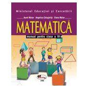Matematica – manual, clasa a IV-a