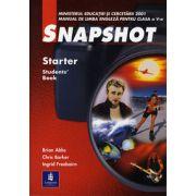 Snapshot. Manual de limba engleza clasa a V-a .  Starter Student' Book