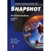 Snapshot. Manual clasa a VII-a  -  Pre-Intermediate Student' Book