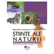 Stiinte ale naturii – manual, clasa a IV-a