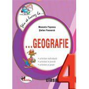 Stiu sa lucrez la... Geografie clasa a IV-a