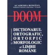 DOOM Dictionarul ortografic, ortoepic si morfologic al limbii romane
