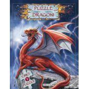 Dragoni - carte cu puzzle