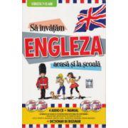 Sa invatam Engleza acasa si la scoala 7-13 ani + 4 CD-uri +Manual + Dictionar de Buzunar