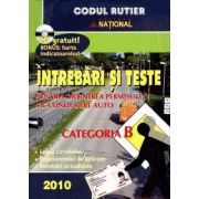 Intrebari si teste pentru obtinerea permisului de conducere categoria B 2010 - CD GRATUIT !